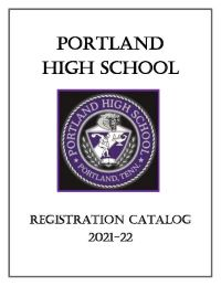 2021-2022 PHS Registration Catalog