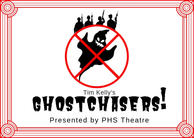 Ghostchasers! Save the Date Card Front