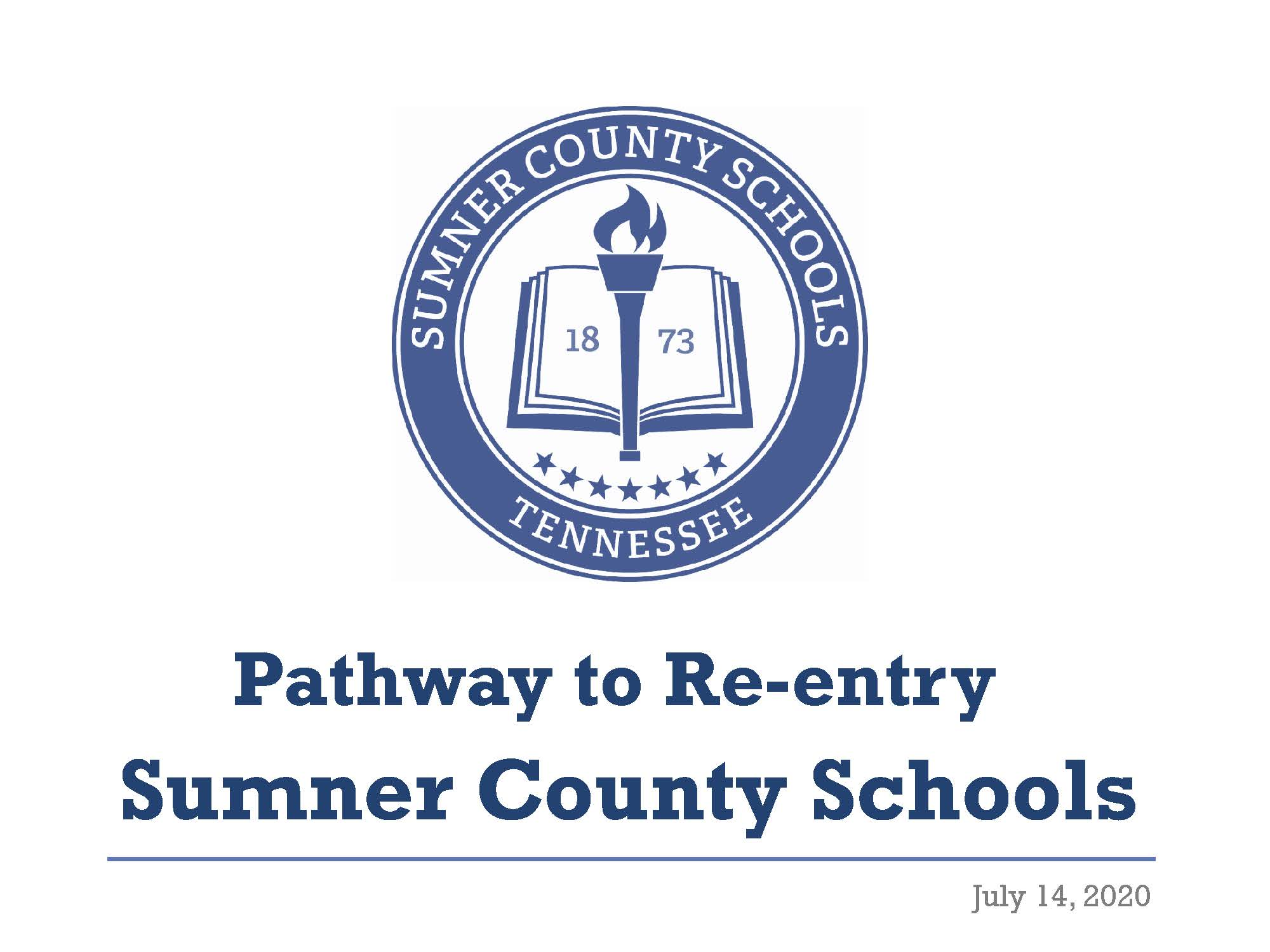 SCS Pathway to Re-Entry